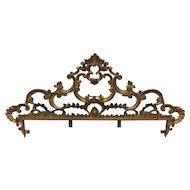 Wrought Iron Rococo Queen Size Headboard