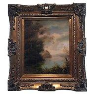 Oil On Canvas Painting Landscape