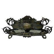19th Century Antique French Planter And Tray
