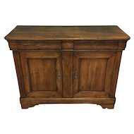 19th Century French Louis Philippe Period Pine Buffet