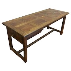 18th Century Antique French Oak Farm Table