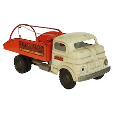 Vintage Structo Wind up Toyland Tow Truck