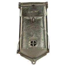 Vintage Cast Iron Mail Box
