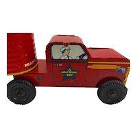 Vintage Courtland Open Top Tin Truck