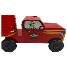 Vintage Courtland Open Top Tin Truck