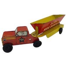 Vintage Courtland Side Dumper Tin Truck