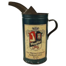 Vintage Maytag Household Tin for Fuel Mixing c.1920/30 RARE