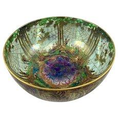 "Wedgewood Fairyland Lustre Bowl ""Poplar Trees"" c. 1930's"
