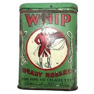 Whip Ready Rolled Pocket Tobacco Tin