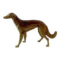 Antique Hubley Cast Iron Borzoi Dog Door Stop