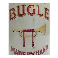 Vintage Bugle Cigar Tin c. 1920