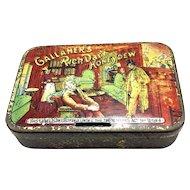 Gallaher's Rich Dark Honeydew Tobacco Tin