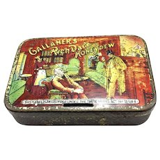 Gallaher's Rich Dark Honeydew Tobacco Tin