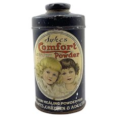 Early Sykes Comfort Powder Tin