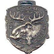 Loyal Order Of Moose Watch Fob