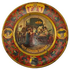 1907 Duff Gordon Sherry Advertising Plate