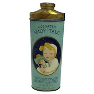 Colgate Baby's Talc Tin - Montreal