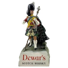 Vintage Dewar's Scotch Whiskey Bar Figurine