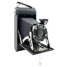 Kodak Junior Six-20 Folding Camera w/ Original Box and Instructions c.1930's