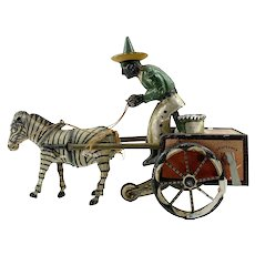 Antique Lehmann Daredevil Wind-up Toy c.1881