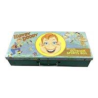 1950's Howdy Doody Outdoor Sports Box