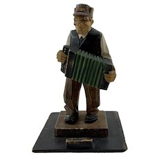 Folk Art Accordion Player