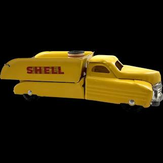 Vintage Buddy L Shell Truck