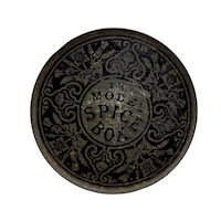 "Vintage ""The Model Spice Box"" Tin"