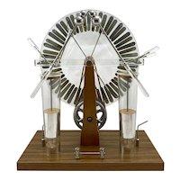 Vintage Voltana Wimshurst Electrostatic Static Electricity Generator