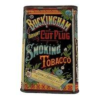 Buckingham Cut Plug Pocket Smoking Tobacco Tin c.1920's
