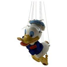 Pelham Puppets Donald Duck c. 1960 w/Original Box