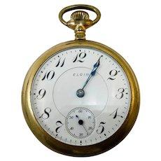 Antique Elgin Pocket Watch c. 1904 - 15J - Working Condition