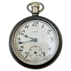 Antique Elgin Watch Co. Pocket Watch c. 1912 - 17J - Working Condition