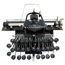 Antique Blickensderfer No. 5 Typewriter c. 1892