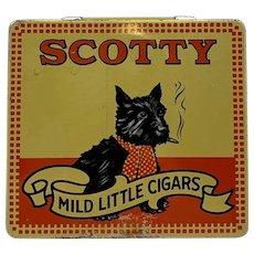 Vintage Scotty Mild Little Cigar Tin