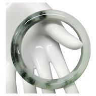 Beautiful Chinese Natural Grade A Jade/Jadeite Bangle Bracelet