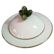 Royal Worcester made for Asprey & Co 15 cm covered Hors D'Oeuvres Oliver Dish
