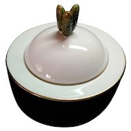 Royal Worcester made for Asprey & Co 15 cm covered Hors D'Oeuvres Pickle Dish