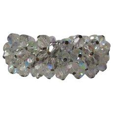 Aurora Borealis Cha Cha Expansion Bracelet Vintage