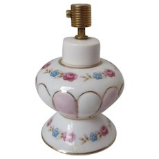 Irice Floral Small Perfume Bottle Vintage