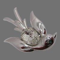 Pegasus Coro Swallow Bird Brooch Vintage
