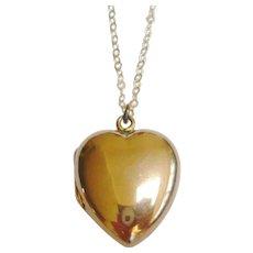 Victorian 9ct Gold Heart Locket