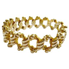 Edwardian 15ct Gold Expandable Bracelet