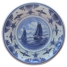 Delft decorative 5.5 inch plate for hanging