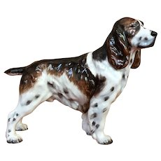 Vintage Royal Doulton Springer Spaniel modeled after Champion Dry Toast