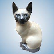 Royal Copenhagen Siamese cat #3281