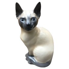 Royal Copenhagen Siamese cat #3281