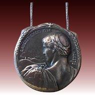Vintage Huguenin Locle 1926 pendant