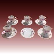 Z & S Co Bone china demitass set