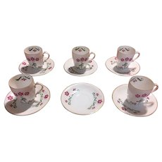 Z & S Co Bone china demitass set